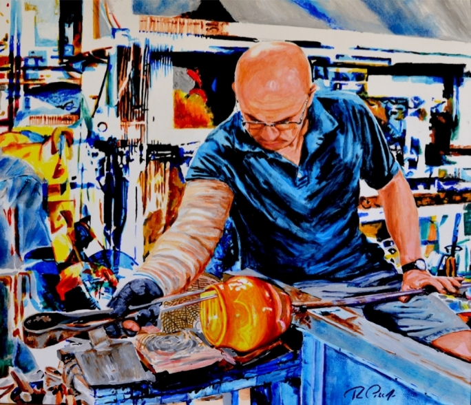 The Glass Blower by Ray Piscopo