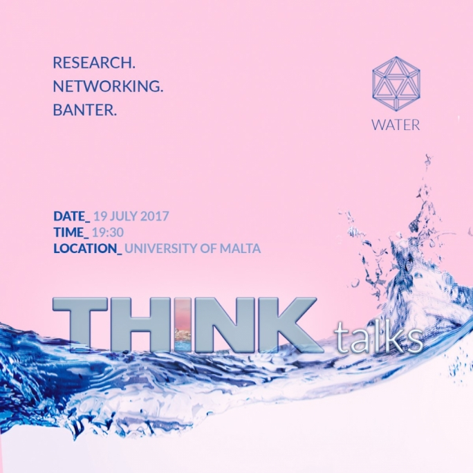 The second edition of THINKtalks will take place on Wednesday 19 July at the university quadrangle
