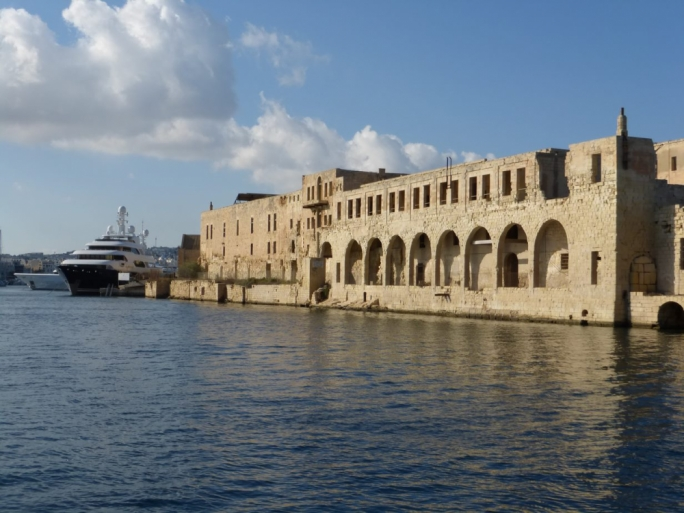 The Lazzaretto, a former quarantine facility and hospital on Manoel Island in Gżira