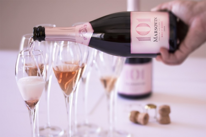 Marsovin releases first Méthode Traditionnelle Brut Rosé