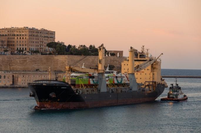 Gozo Fast Ferry's vessels arrive in Malta