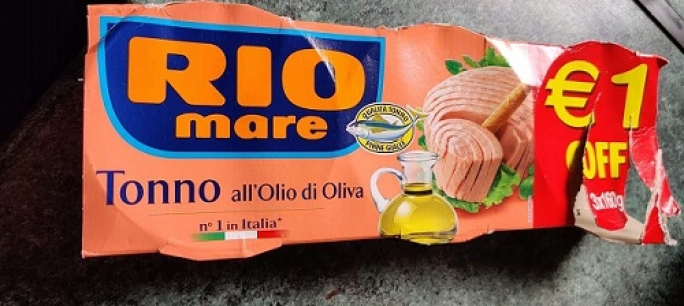 Rio Mare tuna recalled over blue plastic bits in can