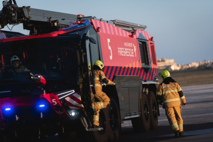 Malta airport invests €2.9 million in fire and rescue facilities