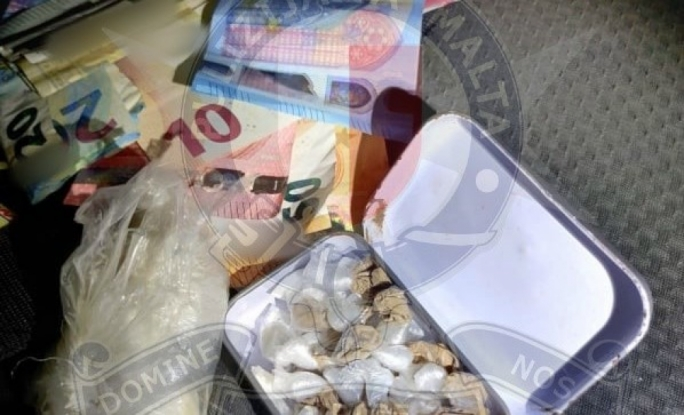 Two arrested in separate drug busts