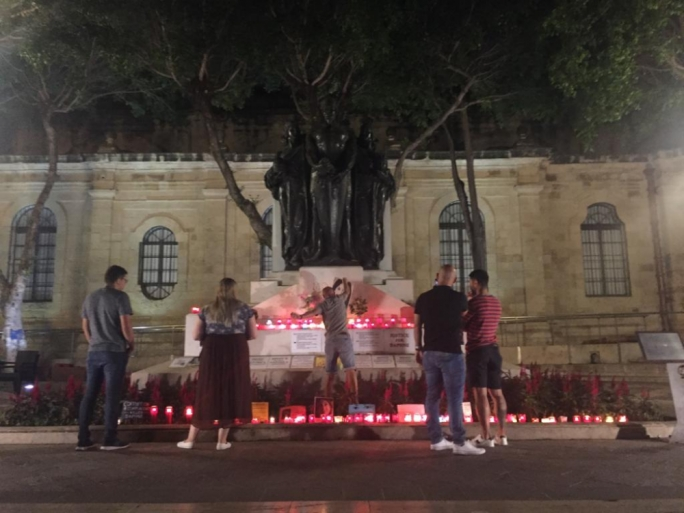 Repubblika says Caruana Galizia memorial vandals are 'violent clowns'