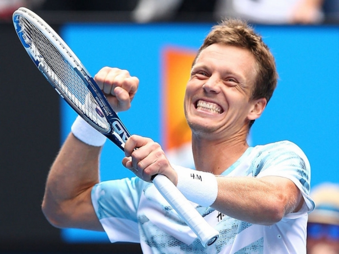 Tomas Berdych beat Rafael Nadal in straight sets