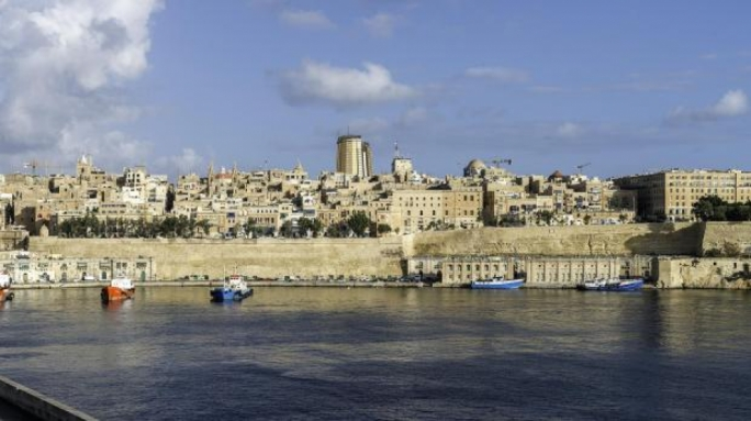 Din l-Art Helwa's photomontage of Townsquare as seen from Cottonera