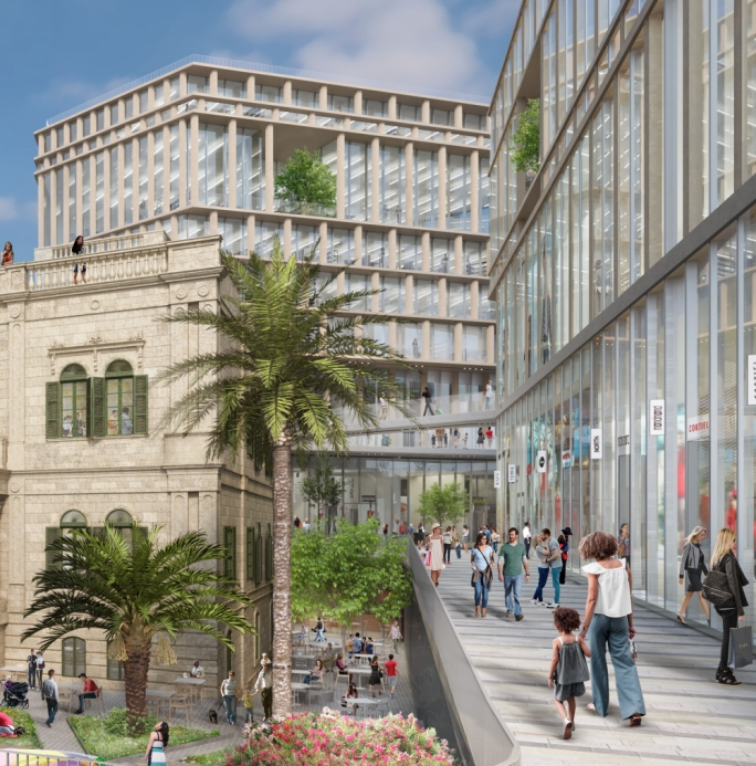 Townsquare project in Sliema applies for 10-storey hotel instead of office block