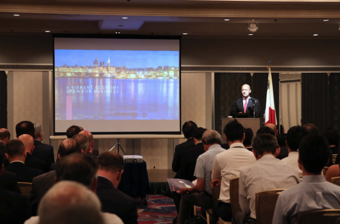 Prime Minister Joseph Muscat is leading a trade delegation to Japan