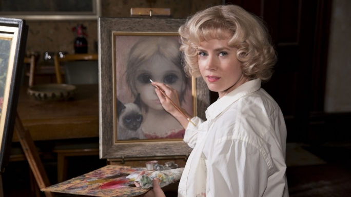 Oscar nominee Amy Adams plays real-life artist Margaret Keane in Tim Burton's uncharacteristically 'normal'-looking drama