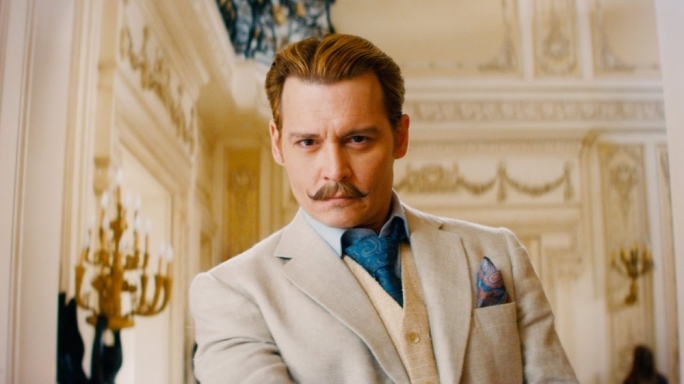 'Tache and the Man: Johnny Depp plays an international man of mystery in this globe-trotting comic caper