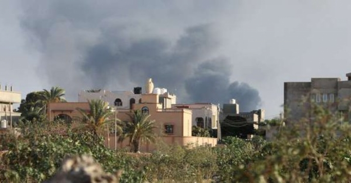 Rocket lands near Italian embassy as fighting in Tripoli intensifies