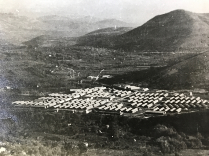 Fraschette, the Italian concentration camp, in 1943