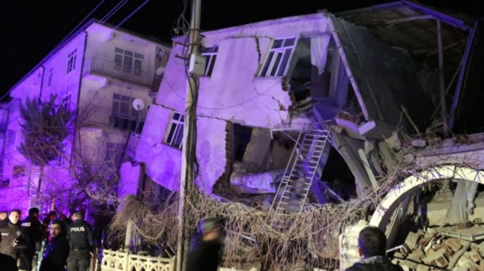 At least 21 dead in Turkey earthquake