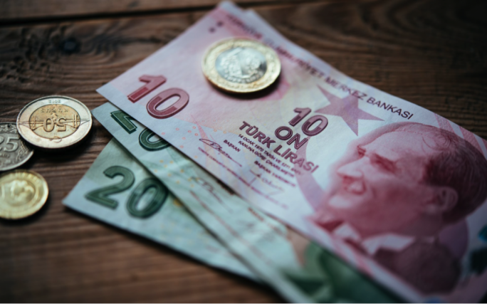 Turkish Lira has lost nearly 40 percent against the dollar this year