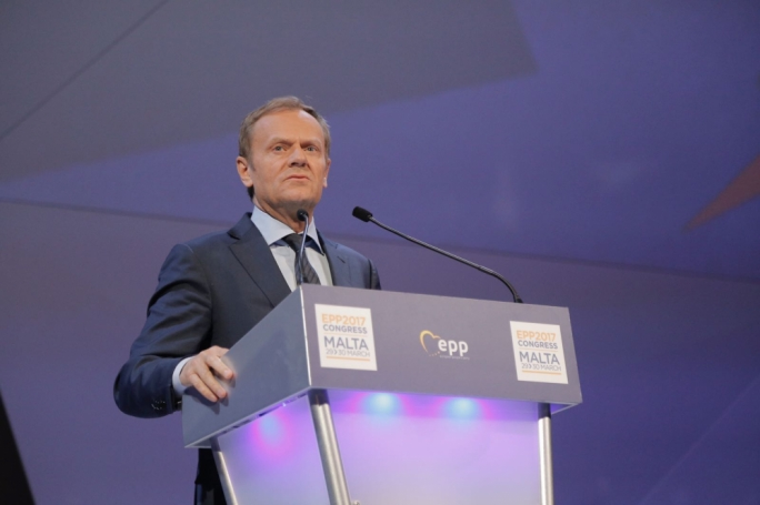 Donald Tusk said that a strong EU is the only guarantee for national sovereignty'