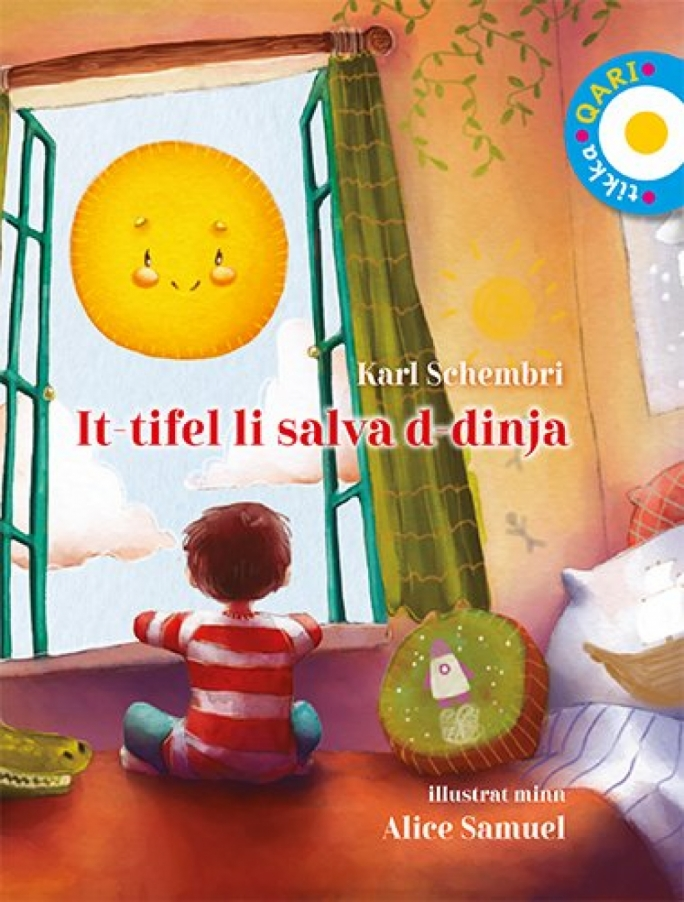 A 'Level 12' picture book forming part of the Tikka Qari series, Karl Schembri's It-Tifel Li Salva Id-Dinja is beautifully illustrated and deceptively complex