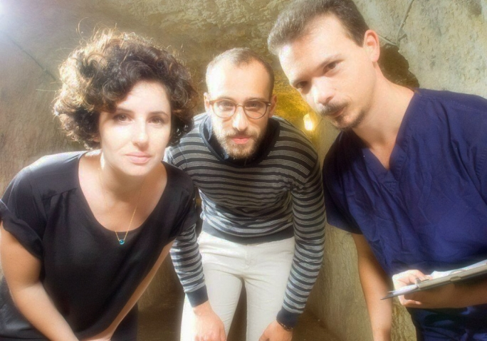 From left: Marilu Vella, Karl Cassar and Joseph Zammit