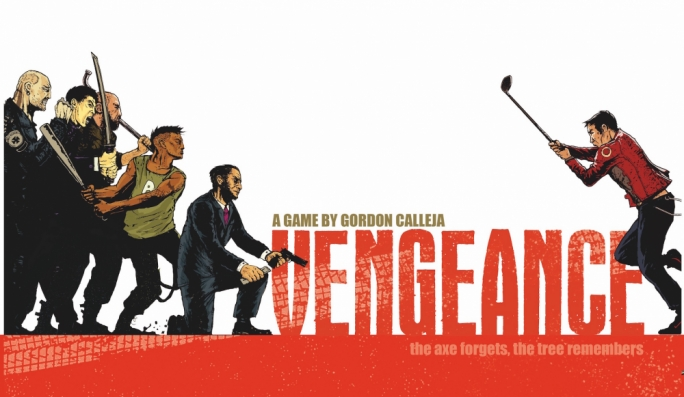 Vengeance is a fast-paced board game inspired by revenge movies