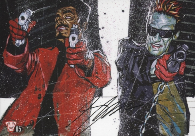 'Sinister Dexter' artist Simon Davis will be among the guests at Malta Comic Con 2015