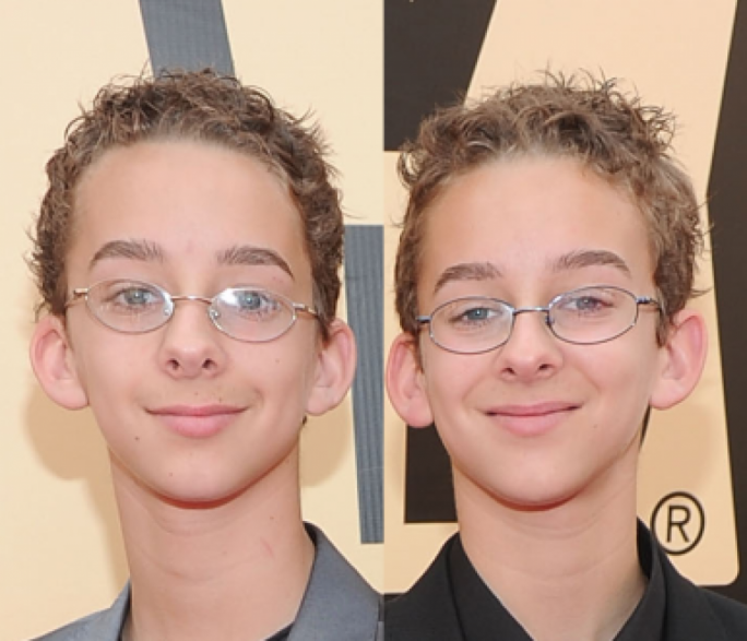 Sawyer Sweeten (left) starred in the series alongside his twin brother Sullivan