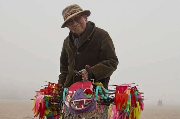 In his retirement, Wong took up the art of kite-making (Photo: BBC)