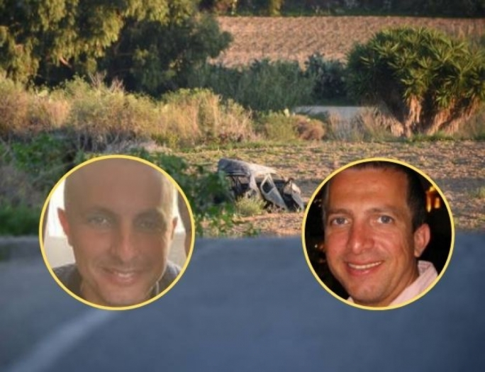 Robert Agius (left) and his brother Adrian (right) have been arrested in connection to supplying the bomb that killed Daphne Caruana Galizia