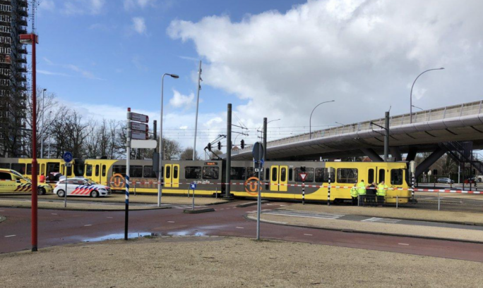 The shooting took place inside a tram in the city of Utrecht