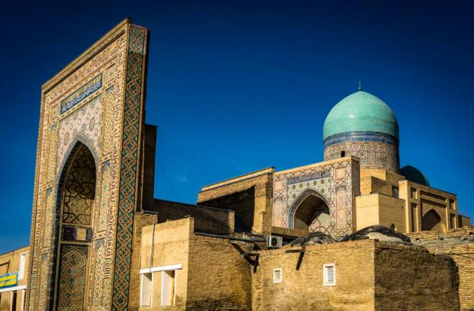Once considered the centre of the world, the trading country of Uzbekistan on the Silk Road, connected Europe to Asia