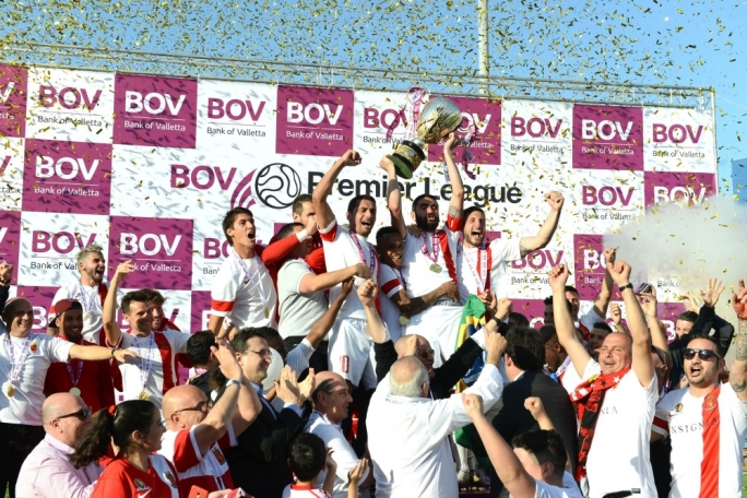 Valletta FC were yesterday crowned champions of the BOV Premier League