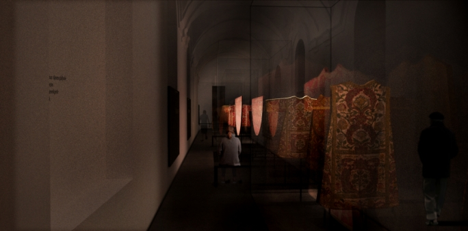The vestments hall will form part of the original carapecchia