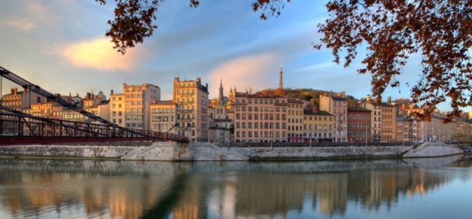 Vieux-Lyon: The enchanting Renaissance-era houses, leaning onto each other like old friends, are Lyon's most charming attraction