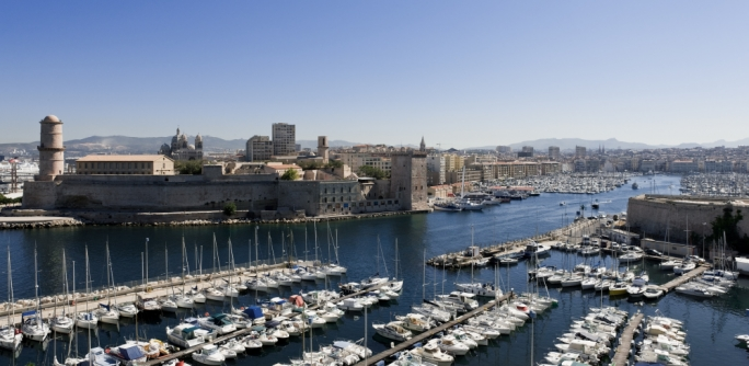 Vieux Port: The Old Port of Marseille dates back some 2,600 years, making it France's oldest city