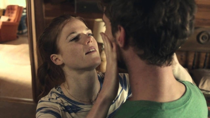 Rose Leslie and Harry Treadaway in Honeymoon