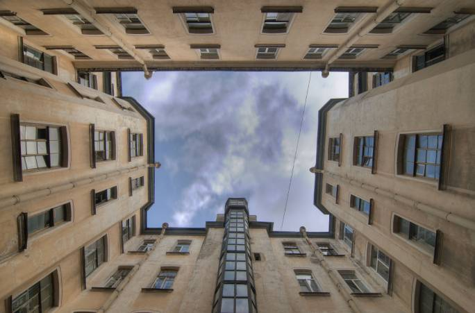 The Well-Courtyards show Dostoyevsky's darker side of St Petersburg