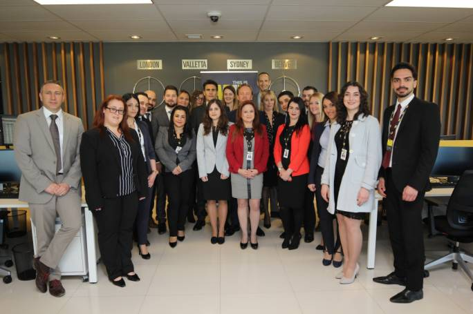 The Western Union Business Solutions Malta team