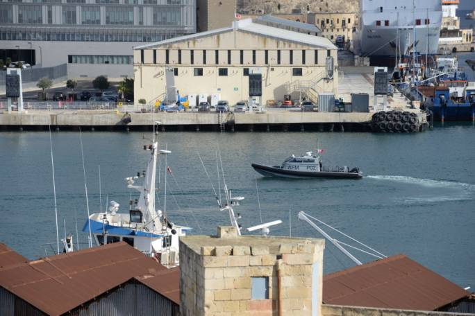 Heightened police and army activity in the Marsa harbour area