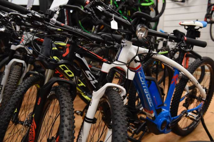 Prominent bicycle dealer The Cyclist reports that e-bike sale is on the rise; bike advocacy group says increase in very recent months is due to new budget announcements
