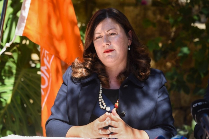 Democratic Party MP Marlene Farrugia has said her party would back a motion of no confidence in Opposition leader Adrian Delia. (Photo: James Bianchi/MediaToday)