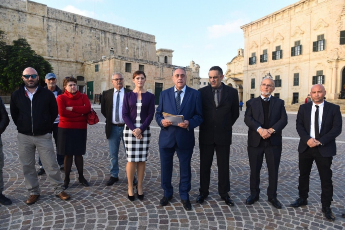 The Moviment Patrijotti Maltin was this afternoon critical of what is said was the government's failure to inform the Maltese people on whether it intends to sign the UN's Global Compact for Migration. (Photo: James Bianchi/MediaToday)