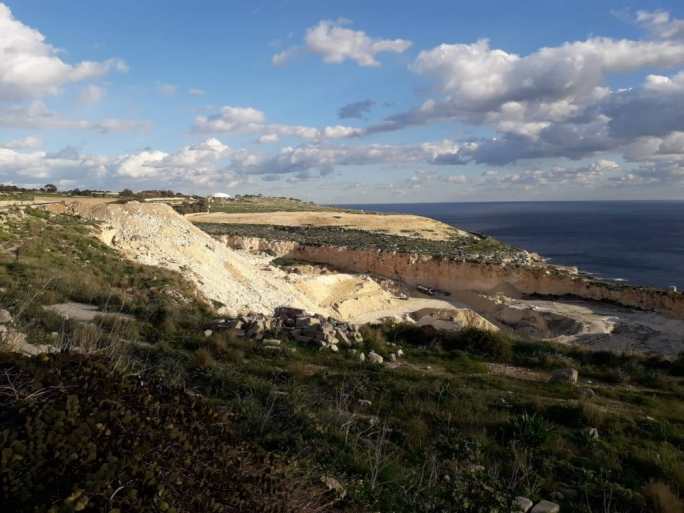 The PD said Malta's countryside was being buried because of the greed of a few