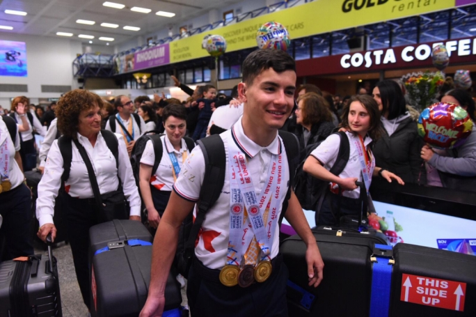 [WATCH] Hero's welcome for Maltese Special Olympians
