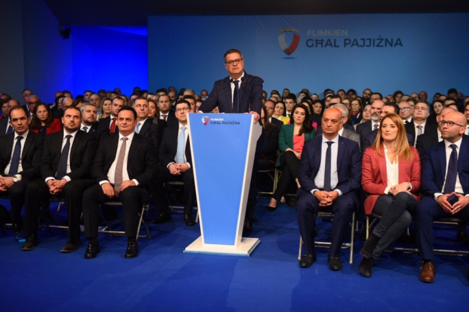 Next month's elections a first step in the PN strengthening itself, Delia says