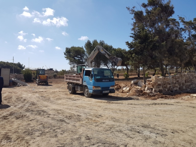 The centre is being built on a stretch of land over which PD MP Marlene Farrugia had held a lease, but an agreement was reached to transfer this onto the government