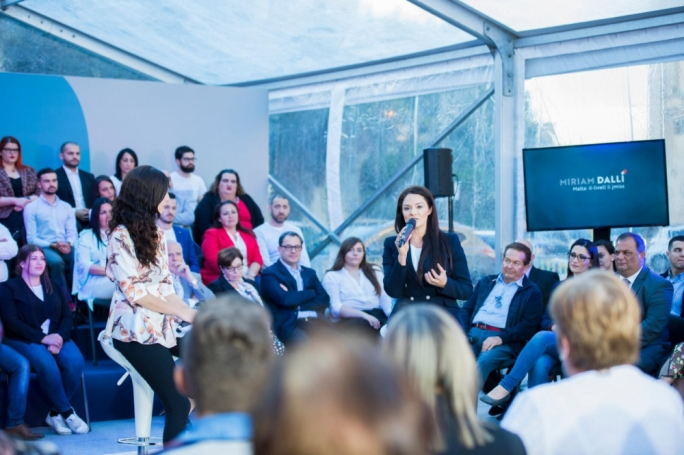 Labour MEP Miriam Dalli was speaking at a political event in Mosta on Saturday