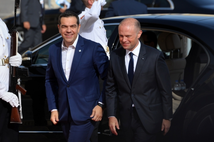 Greek Prime Minister Alexis Tsipras. (Photo: James Bianchi/MediaToday)