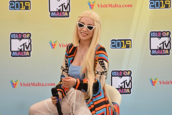 Ava Max, one of tonight's headliners. (Photo: James Bianchi/MediaToday)