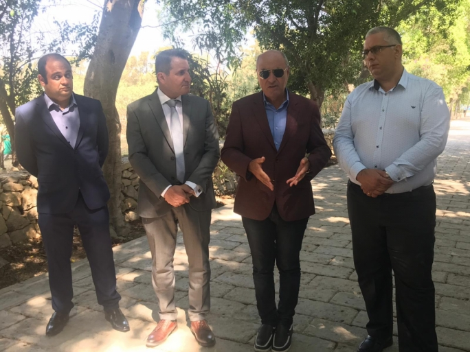 Parliamentary Secretary for Local Government and Communities Silvio Parnis, Environment Minister Jose Herrera, Ambient Malta, Director General Herman Galea