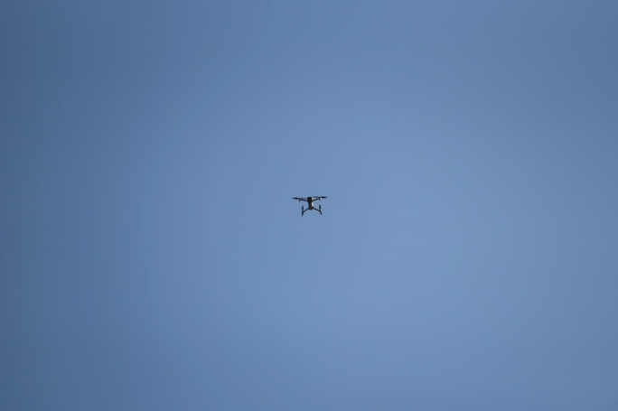 Police have also put up a drone to Monitor the situation