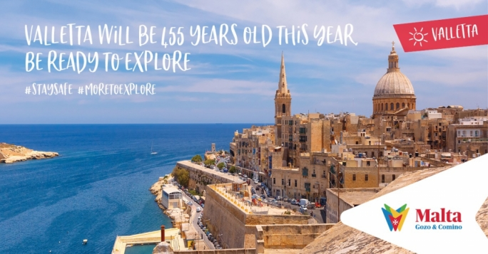 [WATCH] Get ready to explore... Malta is first on the post-COVID travel list